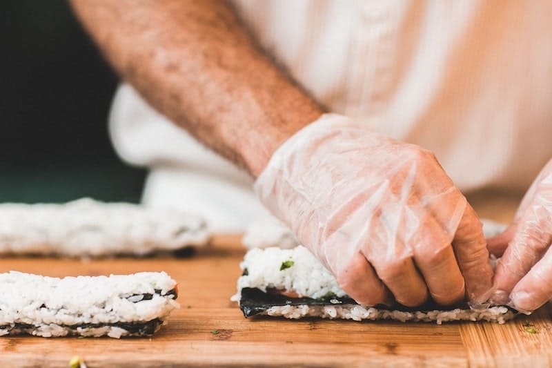 how long does it take to make sushi