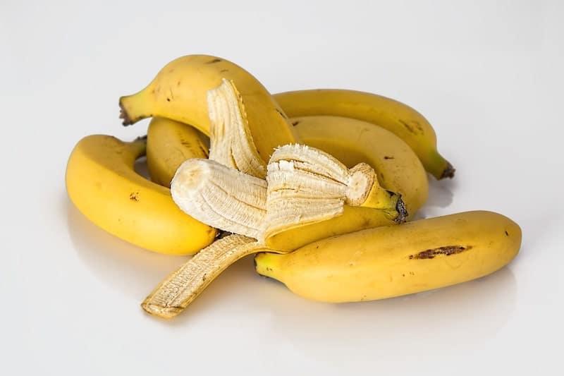 fermenting bananas