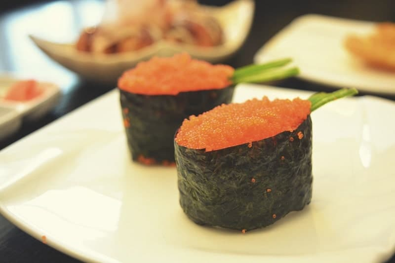 how to order sushi without rice